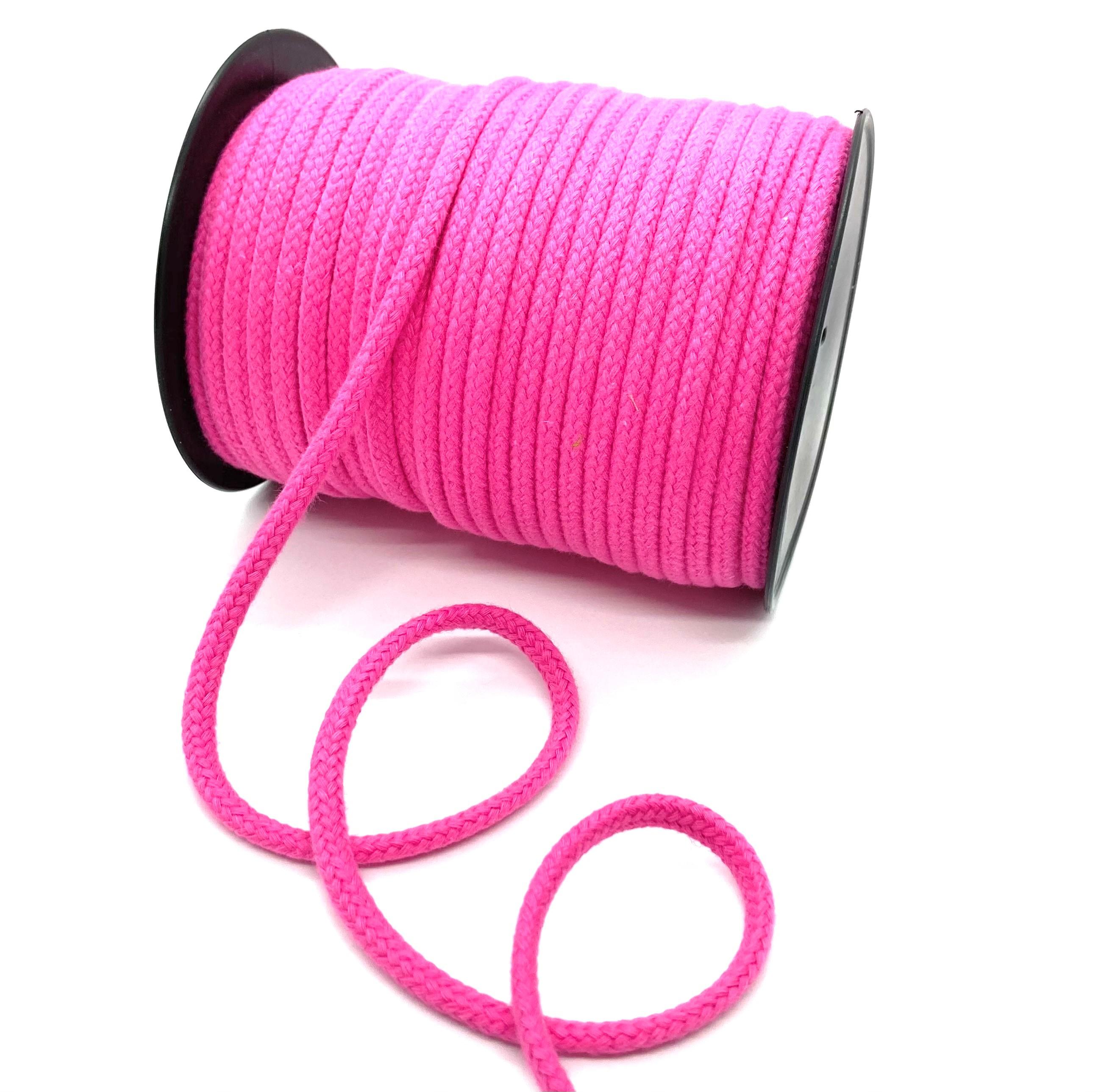 Kordel, Pink 6 mm