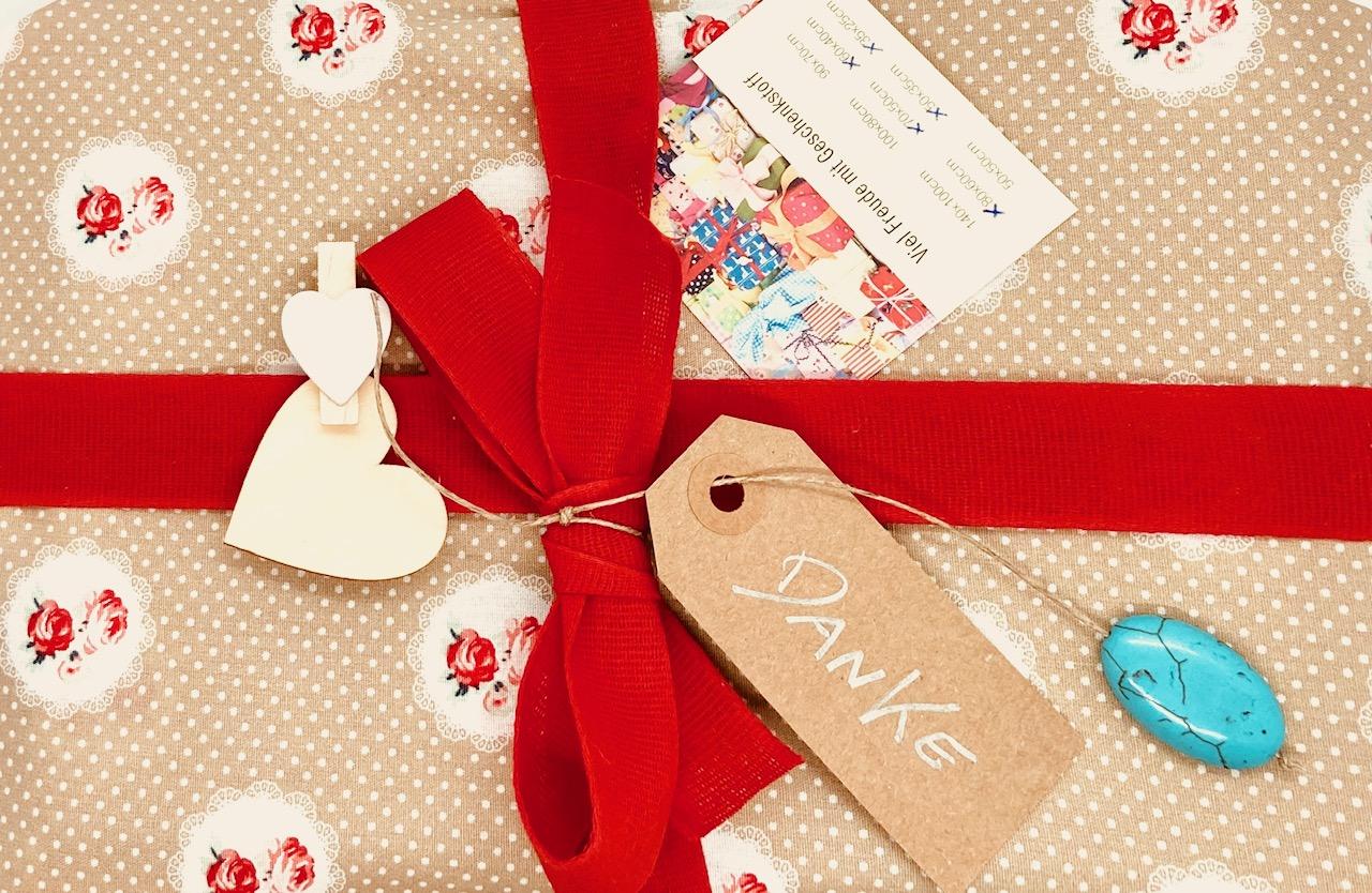 Das perfekte Geschenk: Schenk Geschenkstoff 1