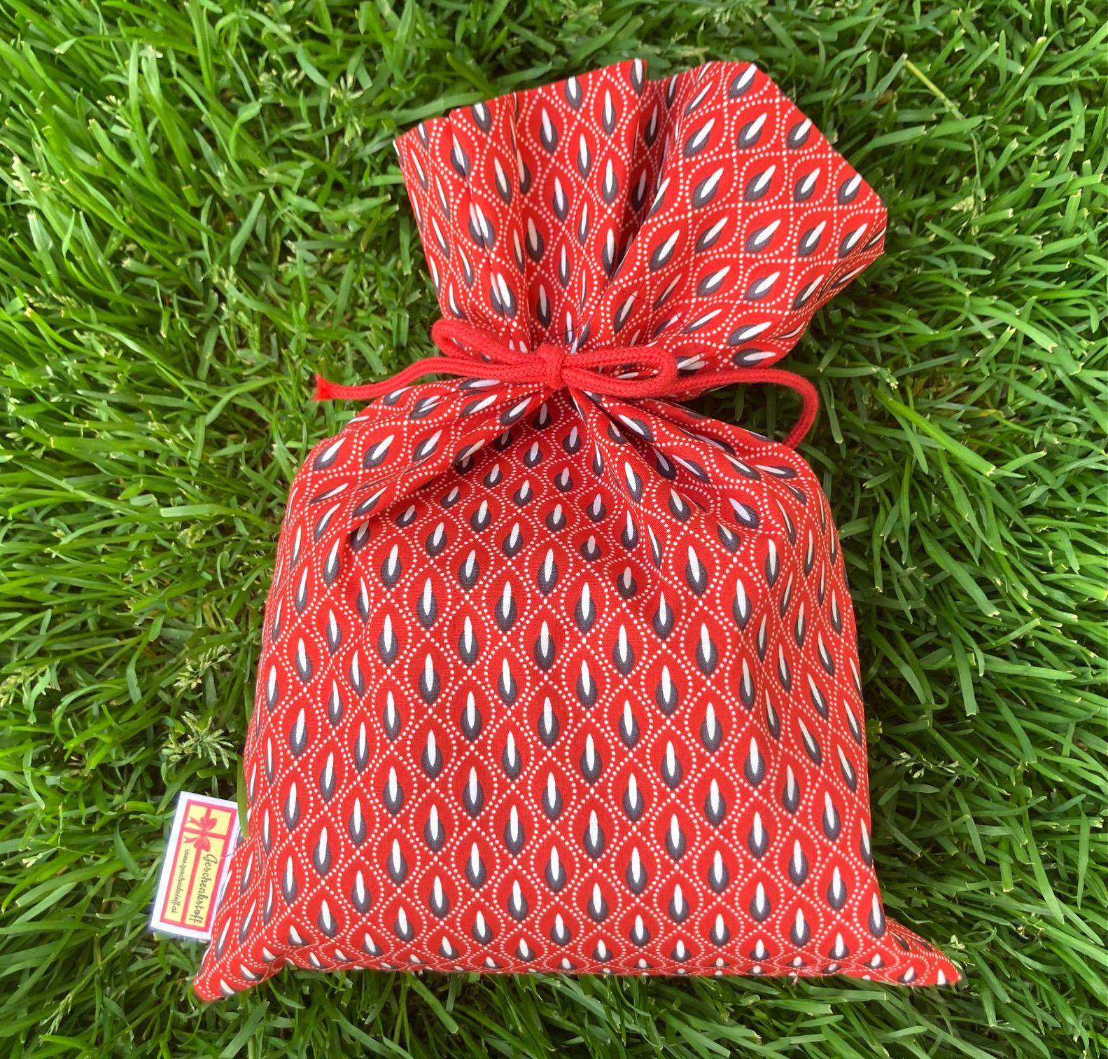 Alles Einfach: Roter Tropfen-geschenkstoff-Sackerl
