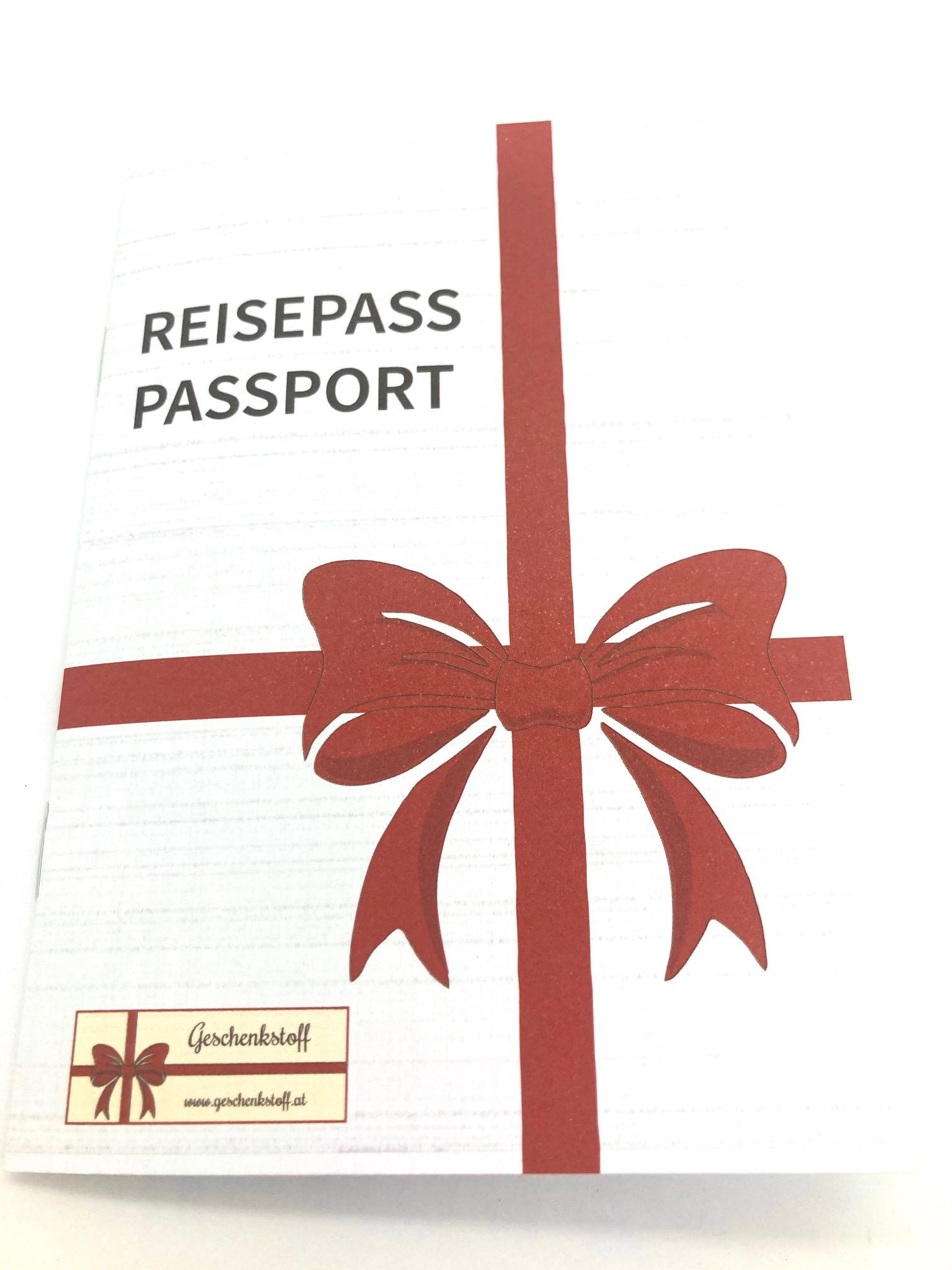 1 x um die ganze Welt mit Reisepass
